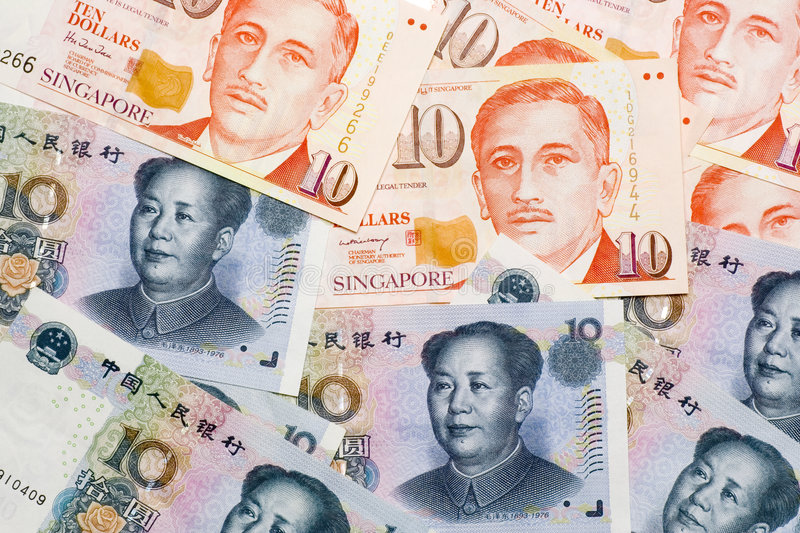 Download Chinese Singapore Currencies Stock Photo - Image: 2642402