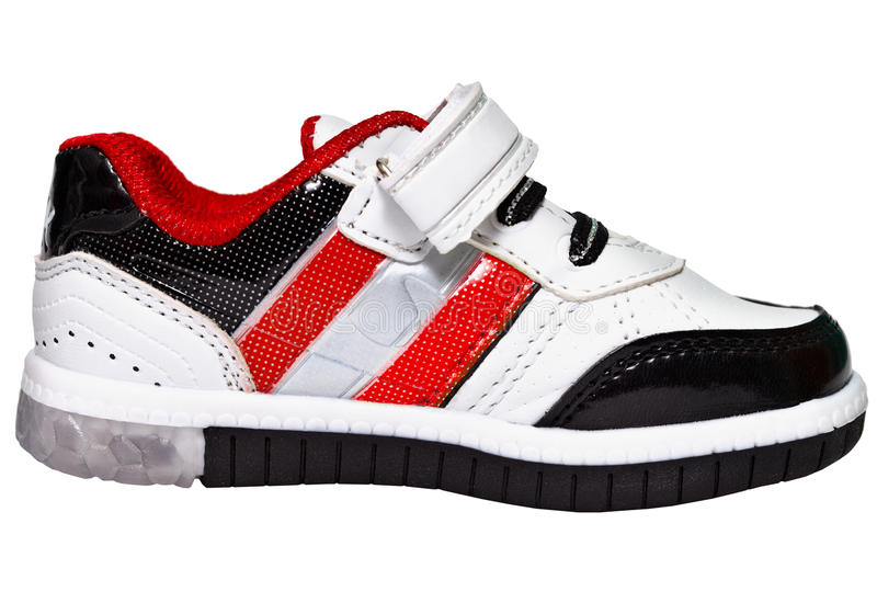 Download Chinese Sneaker With Red Stripes Stock Image - Image: 25503899