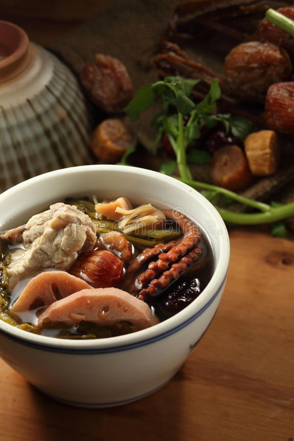 Download Chinese soup stock photo. Image of delicious, bowl, soup - 23357886