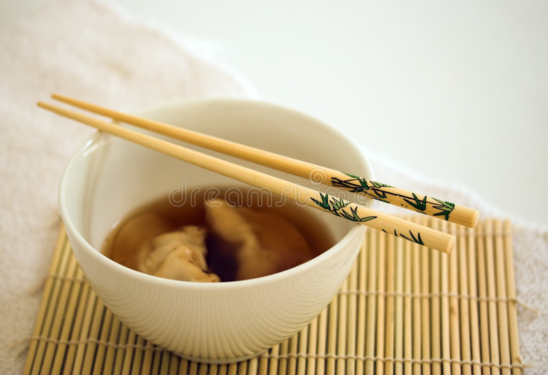 Chinese soup stock images
