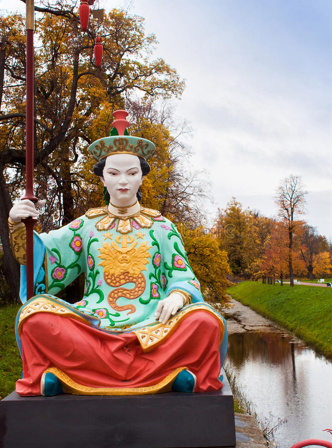 Download Chinese Statue stock image. Image of pushkin, formal - 21508011