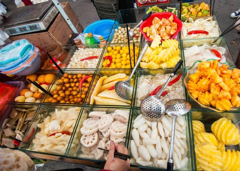 Download Chinese street fruit cart stock photo. Image of cart - 36729022