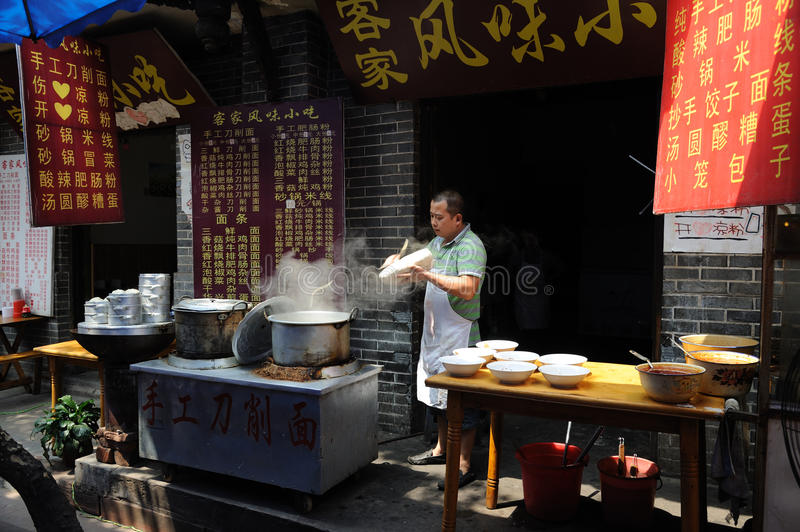 Download Chinese Street restaurants editorial photography. Image of design - 26560052