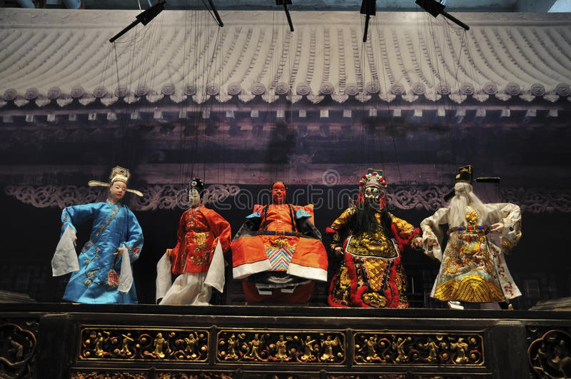 Download Chinese String Puppets(21st UNIMA) Editorial Image - Image: 25100510