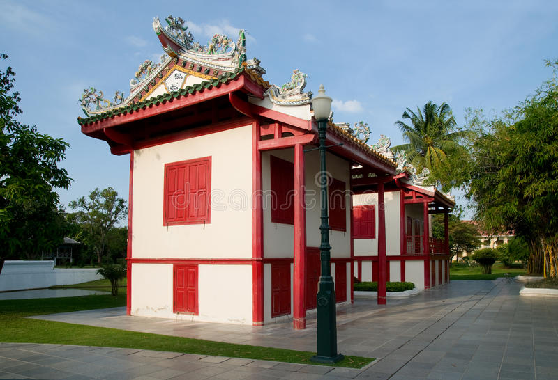 Download Chinese Style Buildings At Bang Pa In, Thailand Stock Photo - Image: 18909410