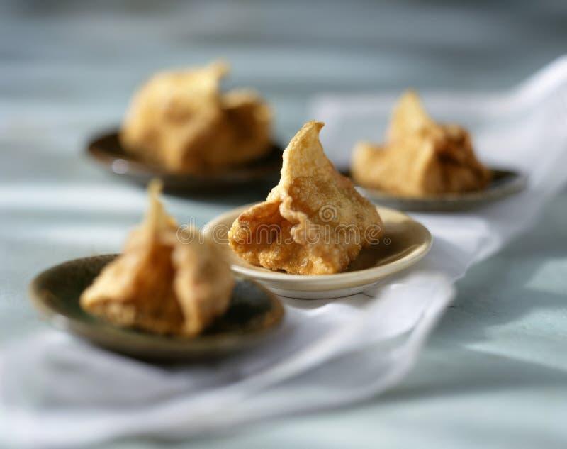 Chinese-style Caramelized Fruit Fritters Stock Photos