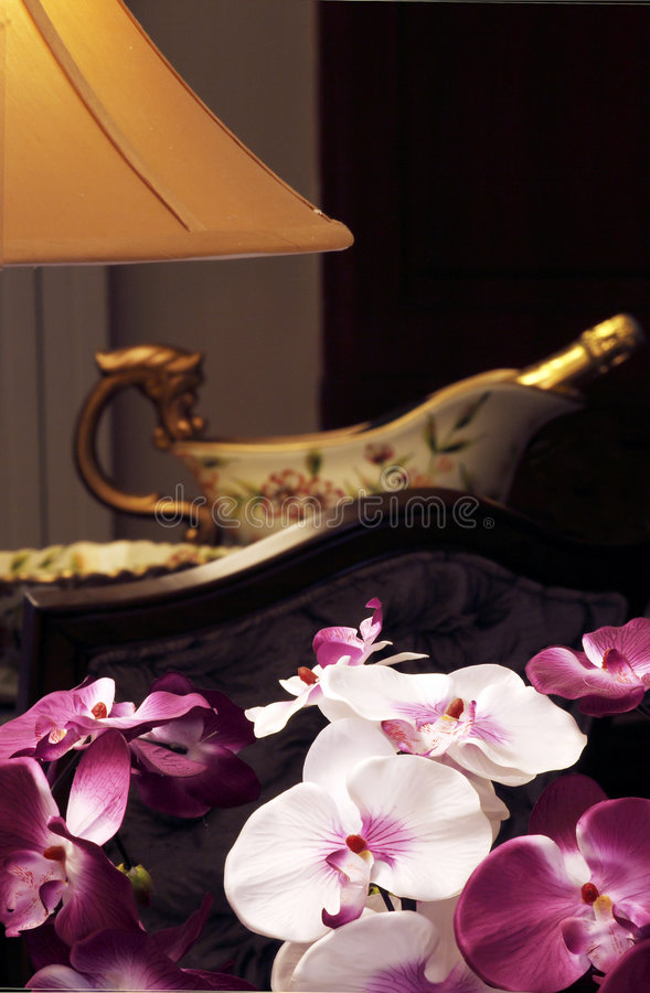 Chinese-style dining-room. royalty free stock photo