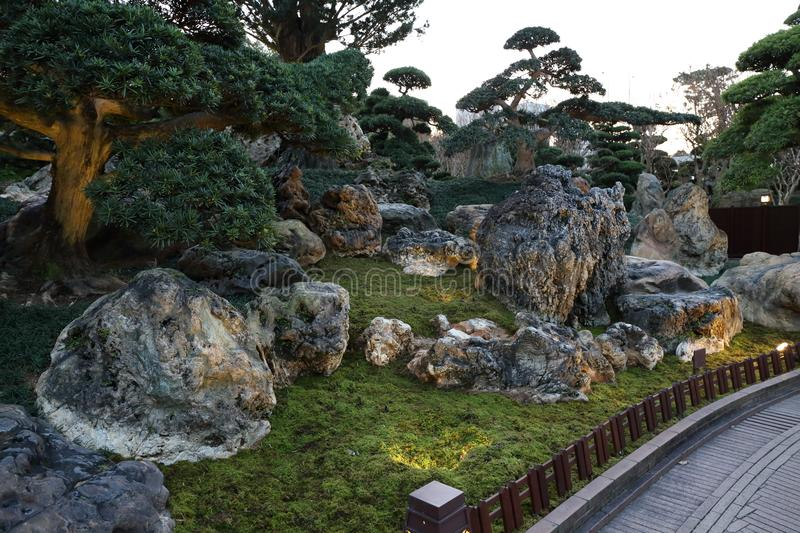 Download Chinese Style Garden Stock Image. Image Of House, Take   108105263