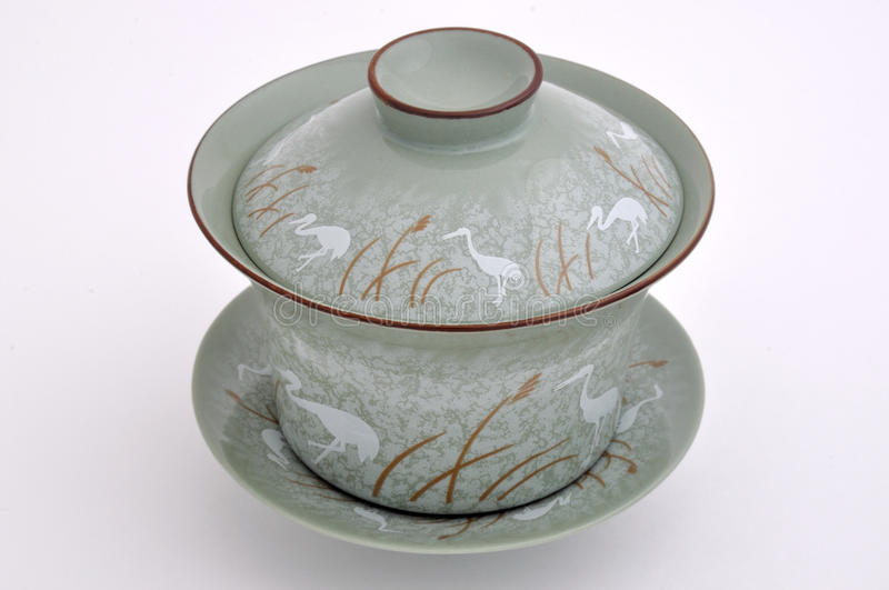 Download Chinese Style Painting Tea Cup Set Stock Image - Image: 12354457