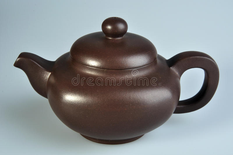 Chinese style tea pottery royalty free stock photo