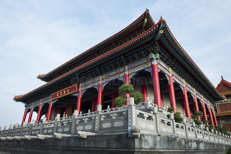 Chinese Style Temple Stock Photo