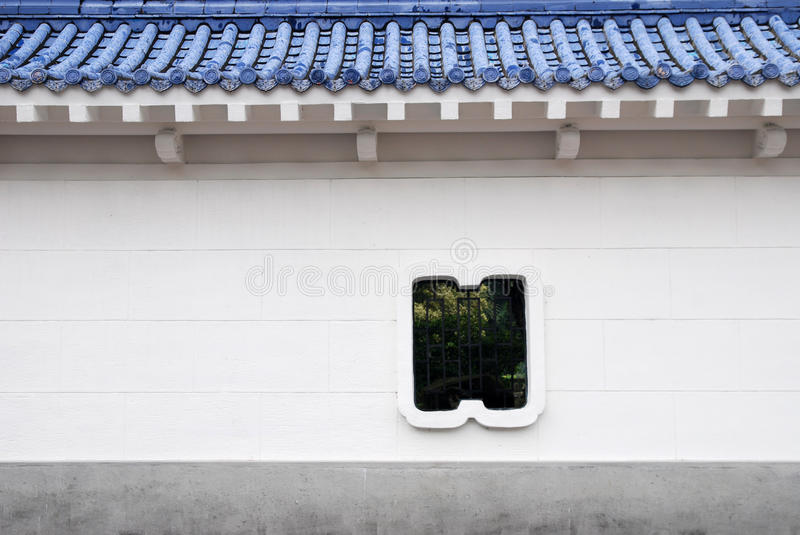 Download Chinese style wall. stock image. Image of courtyard, oriental - 14292297