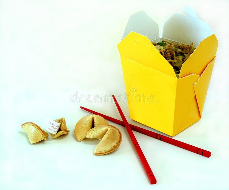 Chinese Take-Out royalty free stock image