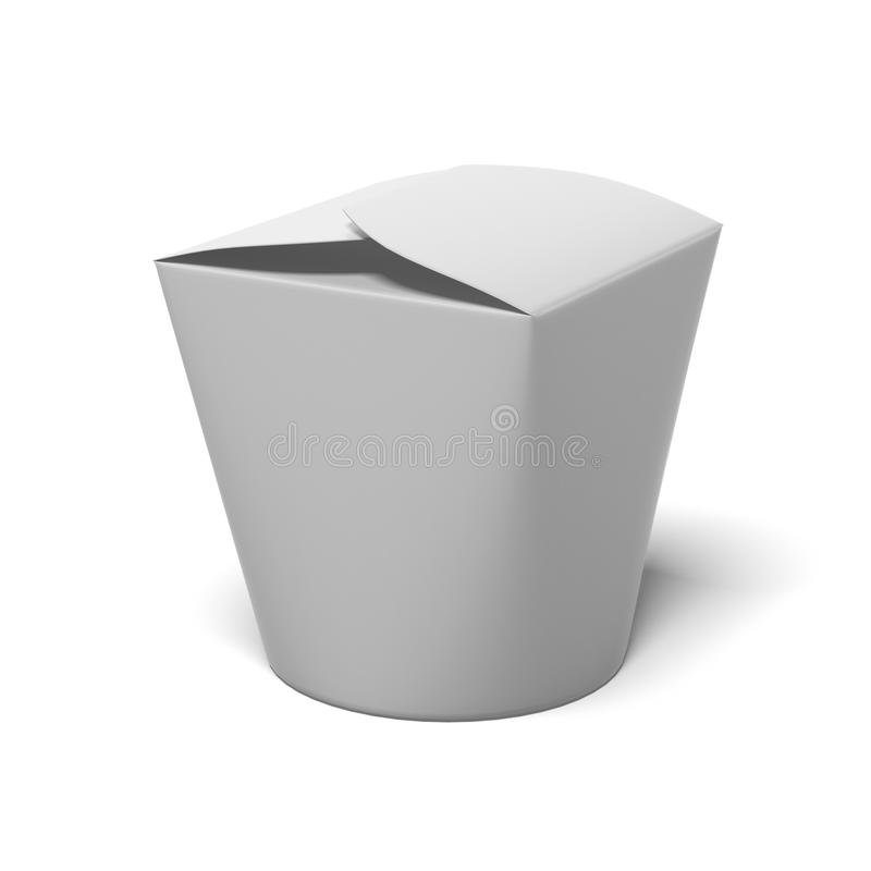Download Chinese take-out box stock illustration. Image of meal - 43310080