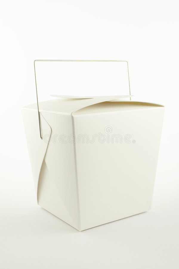 Chinese Take-Out Container stock photo