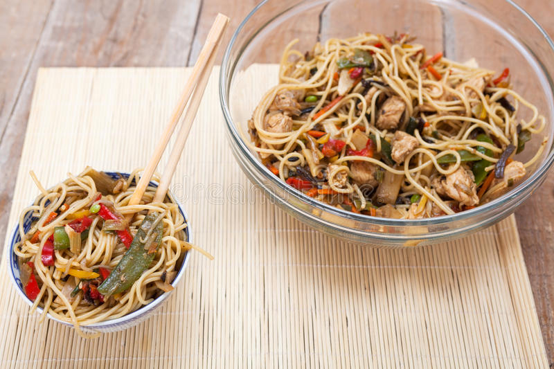 Chinese Take Out Food stock image. Image of pasta, rice ...