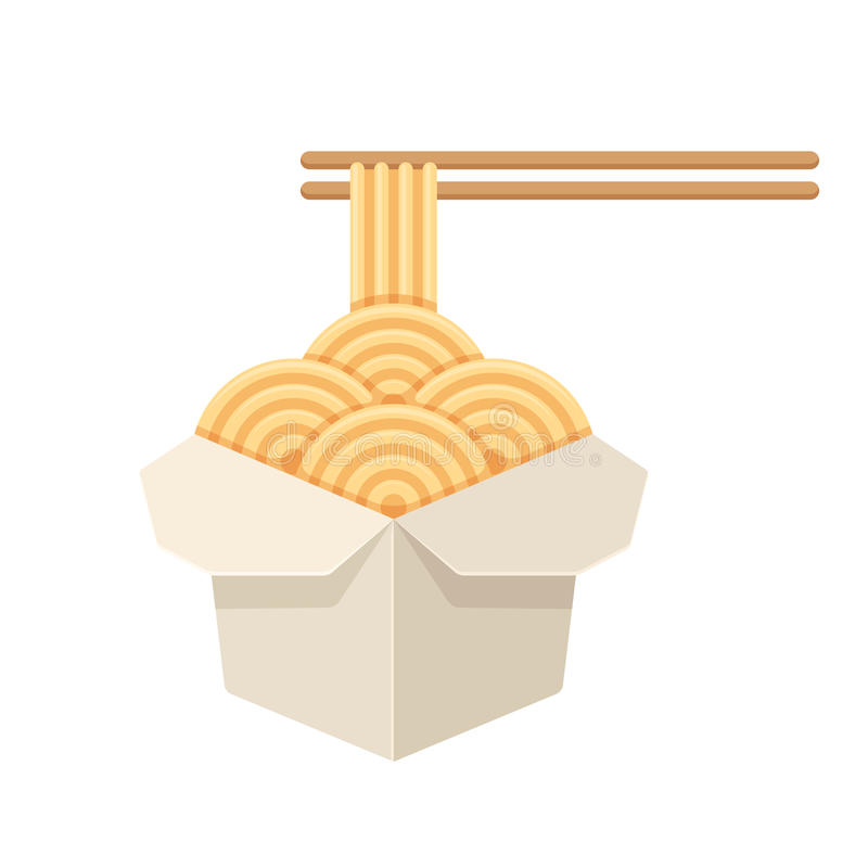 Free Chinese Take Out Noodles Royalty Free Stock Photo - 91941375