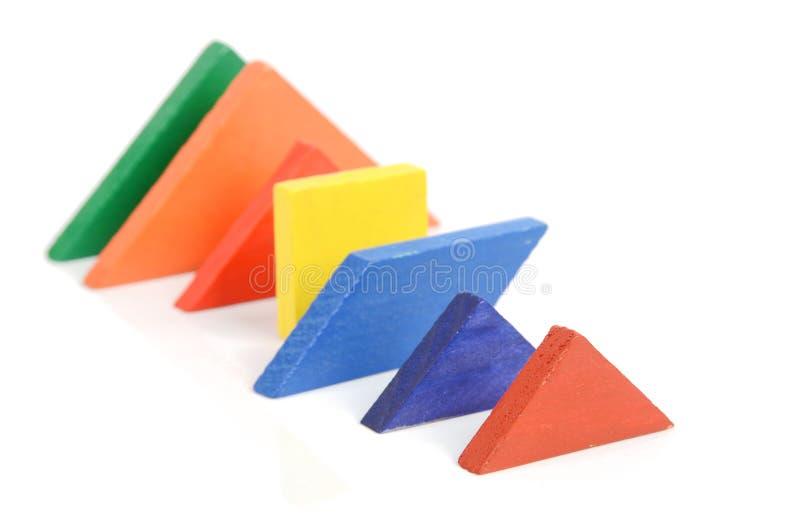 Chinese tangram stock foto