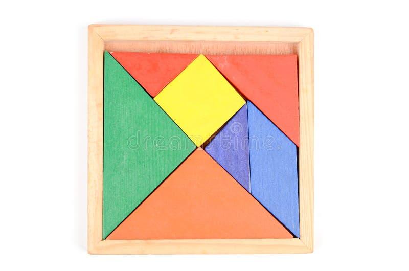 Chinese tangram stock foto's
