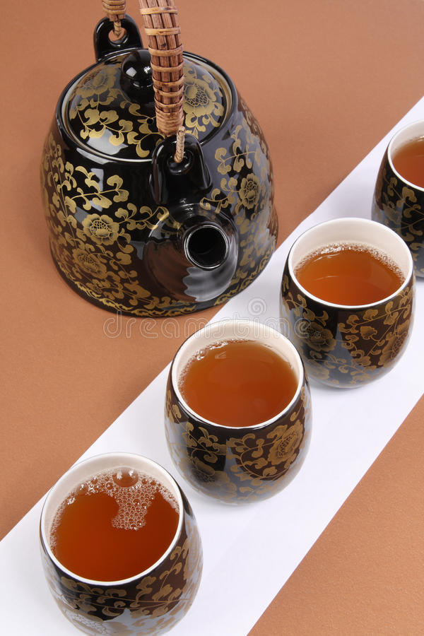 Download Chinese tea ceremony stock image. Image of service, ceramic - 12655253