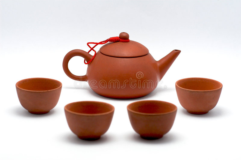 Chinese tea pot royalty free stock images