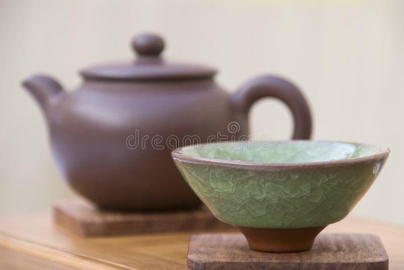 Download Chinese Tea Set stock image. Image of greentea, health - 12262915