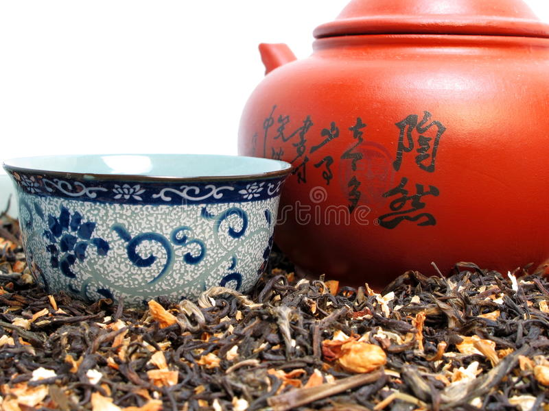 Download Chinese Tea Set stock image. Image of vintage, clay, china - 14930969