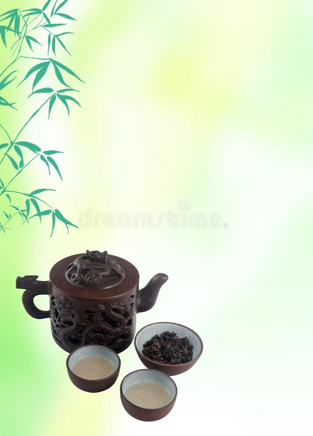 Download Chinese tea template stock illustration. Illustration of earthenware - 14133272