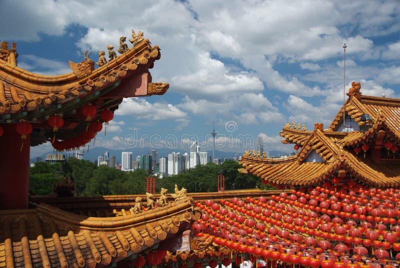 Chinese tempel. royalty-vrije stock foto