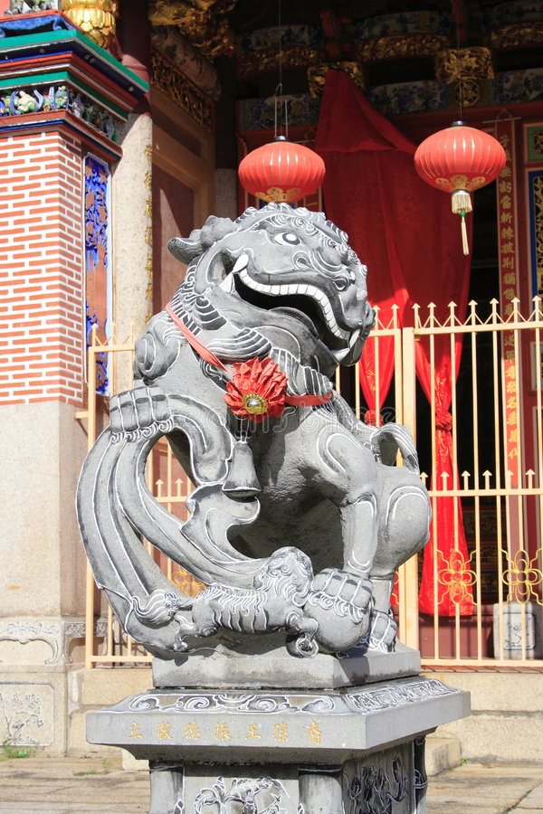 Chinese Tempel in Georgetown royalty-vrije stock afbeelding