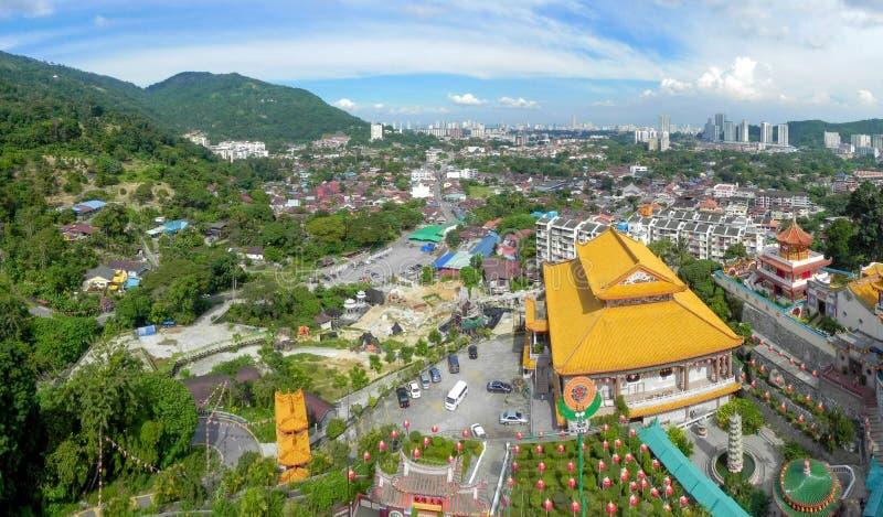 Chinese tempel Kek Lok Si stock foto's