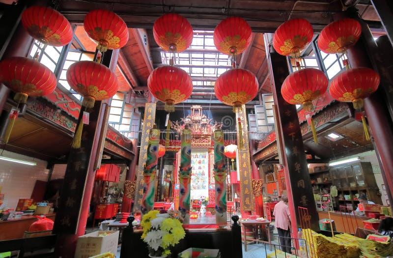 Chinese tempel Kuala Lumpur Malaysia stock foto's
