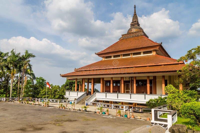 Chinese tempel in Semarang Indonesië stock fotografie