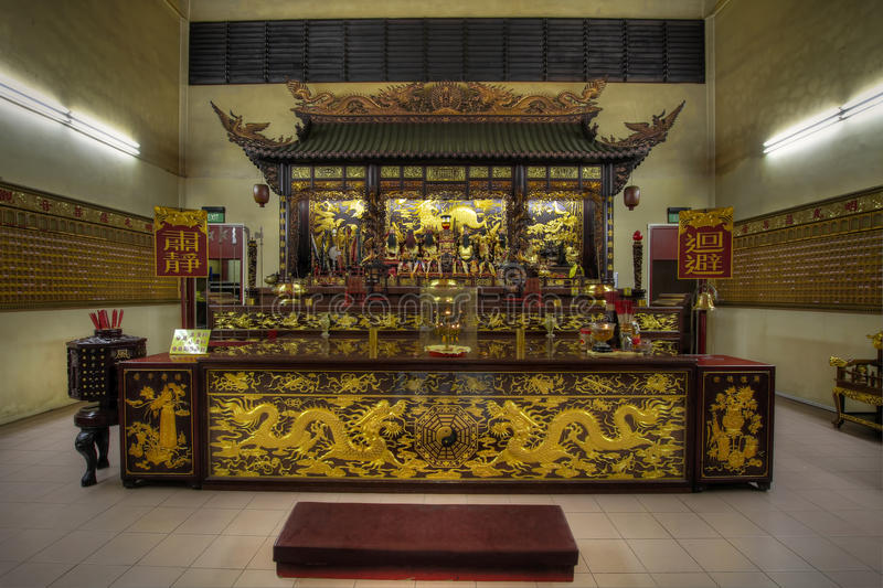Download Chinese Temple Altar Of Gods Stock Image - Image: 16200059