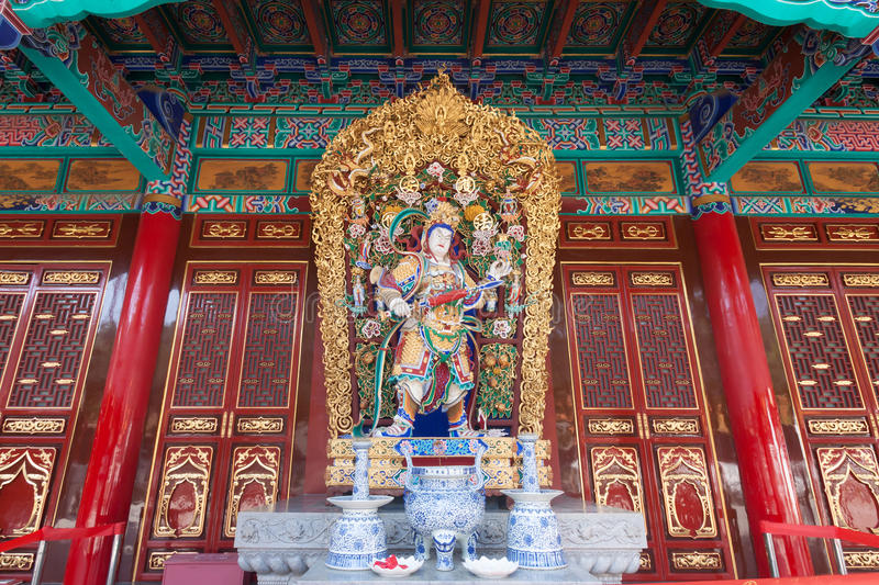 Chinese temple in Bangkok, Thailand.  royalty free stock photography
