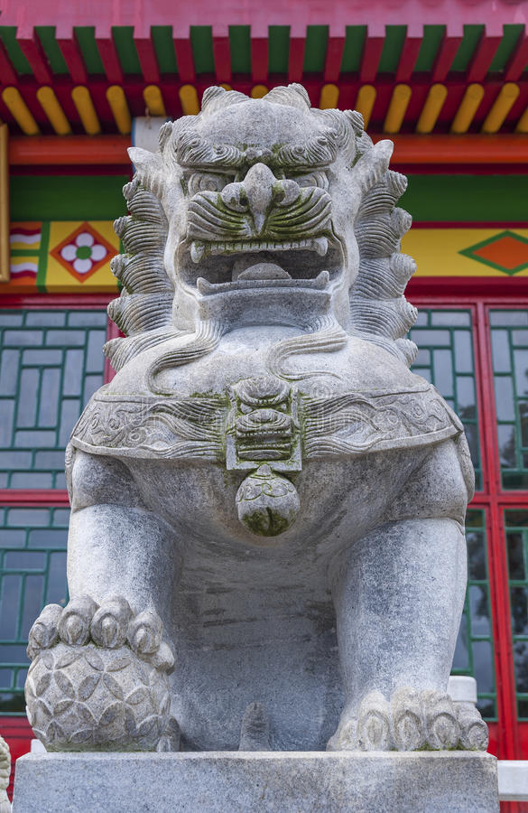 Download Chinese temple stock image. Image of lion, exotic, ancient - 34336847
