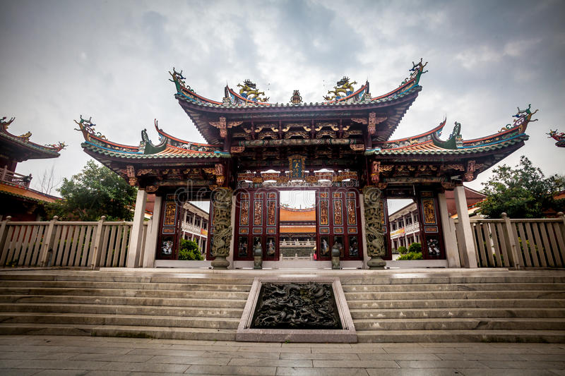 Chinese Temple in Macao royalty free stock image