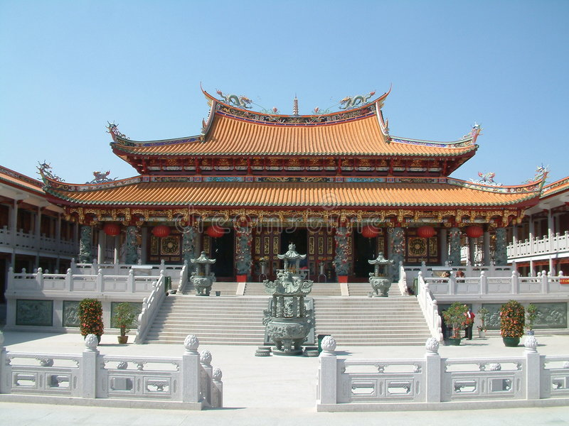 Chinese Temple (Macau) royalty free stock photography