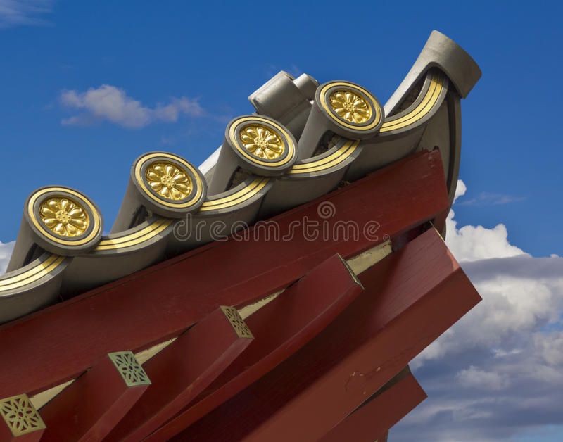 Download Chinese Temple Roofline Detail Stock Image - Image: 27044987