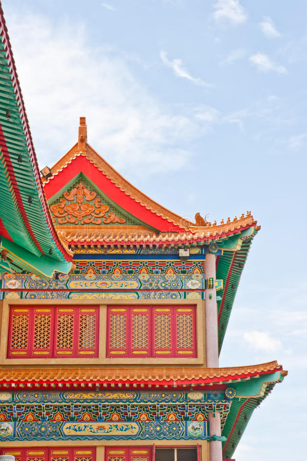 Download Chinese Temple In Thailand Stock Image - Image: 21309851