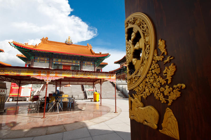 Download Chinese temple in Thailand stock image. Image of religious - 25227997