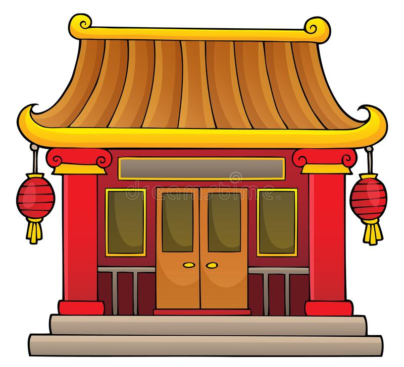 Chinese temple theme image 1. Eps10 vector illustration vector illustration