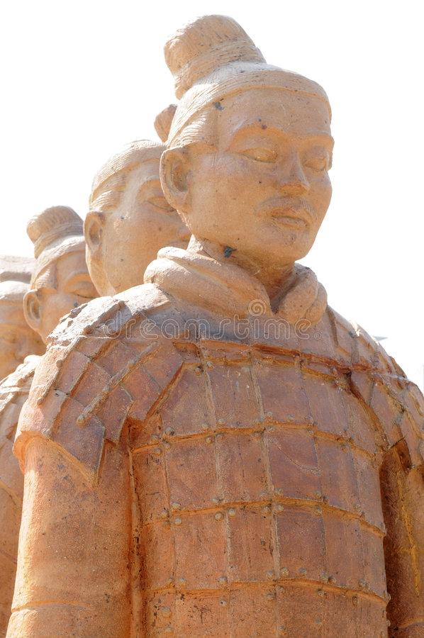 Free Chinese Terra-cotta Figures Stock Photography - 7712082