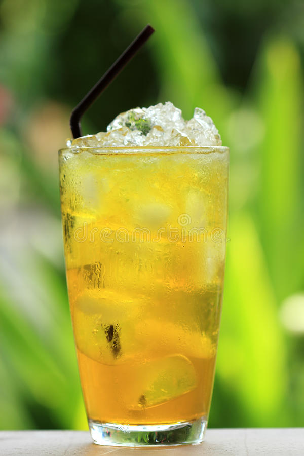 Chinese Thai herb juice. Chrysanthemum stock images