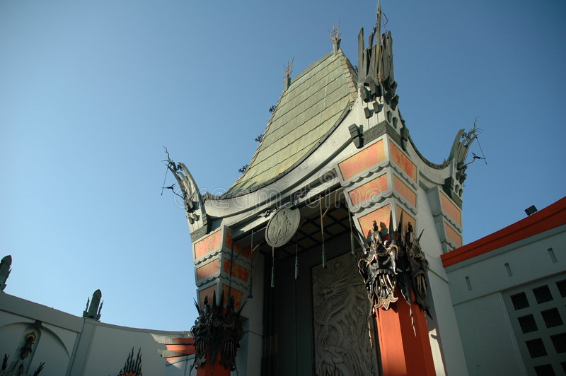 Chinese Theater royalty free stock photo