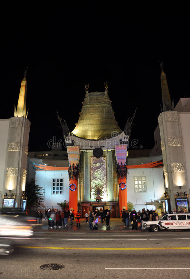 Download Chinese Theatre editorial image. Image of emmy, cimena - 17768225