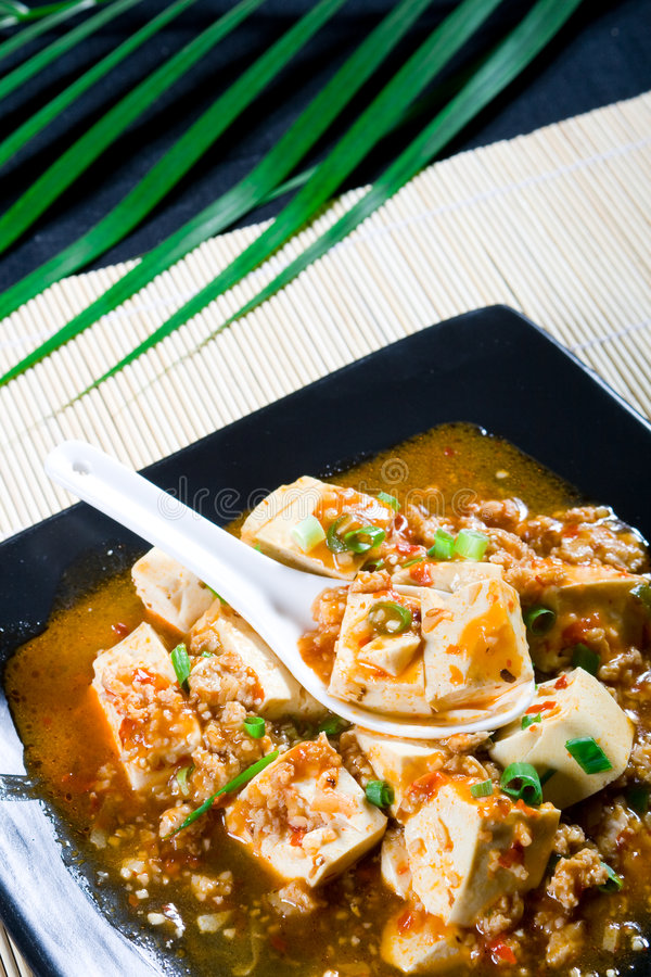 Chinese tofu stock foto