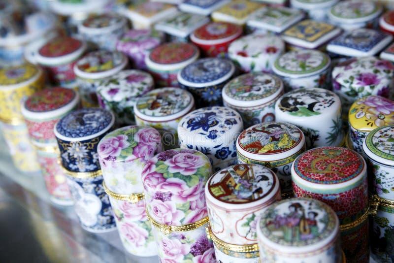 Chinese toothpick box royalty free stock photo
