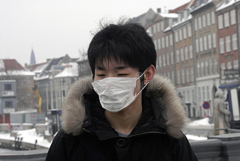 Download CHINESE TOURISTS WITH MASK editorial image. Image of danmark - 12881650