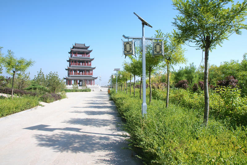 Download Chinese Tower Stock Photo - Image: 26366960